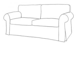 sofföverdrag till Ektorp IKEA soffa