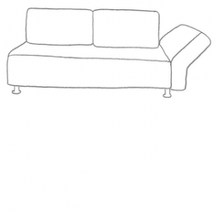 Falsterbo 2 sits IKEA soffa