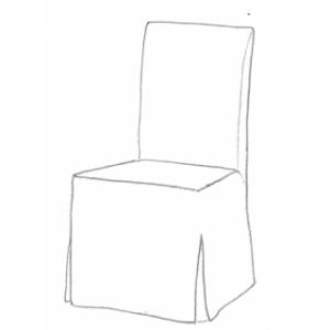 Stolklädsel till Henriksdal IKEA stol
