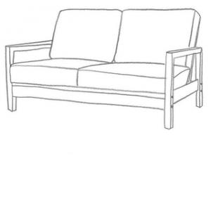 sofföverdrag till lillberg 2 sits ikea soffa