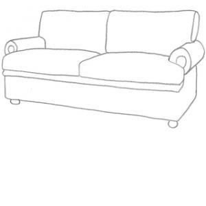 sofföverdrag till Stockholm 3 sits IKEA soffa.