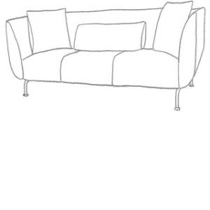 Sofföverdrag till Strömstad 3 sits soffa