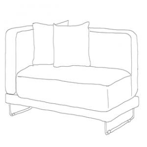 Välj bland över 35st snygga sofföverdrag till din Tylösand 2 sits IKEA soffa.